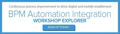 Sign Up for Our BPM Automation Integration Workshop